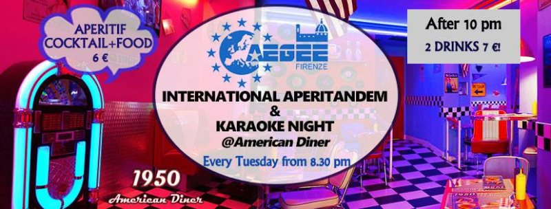 International AperiTandem + Karaoke party by AEGEE